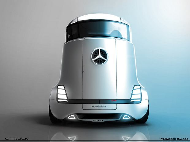 Mercedes E-Truck | Ciężarówka przyszłości
