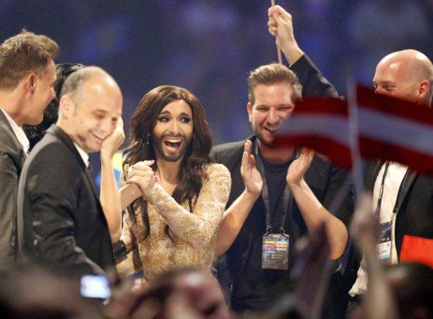 Zwyciężczyni tegorocznej Eurowizji - Conchita Wurst z Austrii