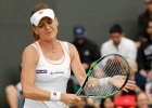 WTA Stanford. Radwa�ska: Nie serwowa�am wystarczaj�co dobrze