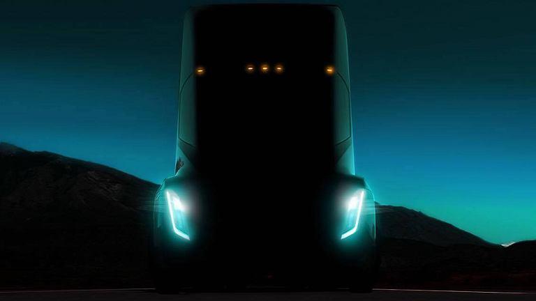 Elektryczna ciężarówka Tesli