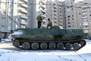 Wschód Ukrainy znów w ogniu