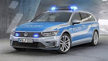 Policyjny VW Passat B8