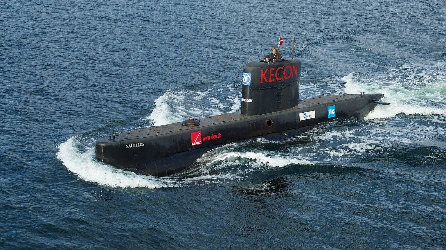 Łódź podwodna UC3 ''Nautilus' i jej budowniczy Peter Madsen