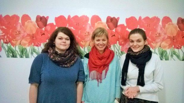 Na zdjęciu: Małgorzata Leszko, Jurga Kraużlis, Magda Leszko