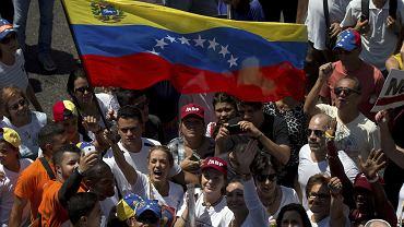 Protesty w Wenezueli