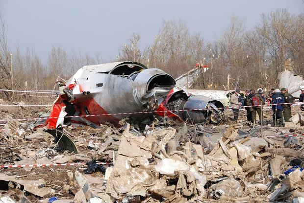 Specjaliści z KBWLLP na miejscu katastrofy