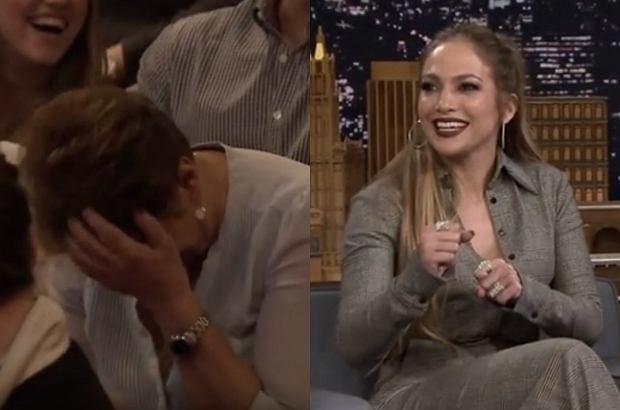 """Jennifer Lopez pojawiła się w roli gościa w amerykańskim programie """"The Tonight Show Starring Jimmy Fallon"""". Całe show skradła jednak jej mama."""