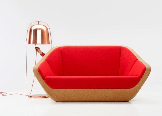 Sofa Corques, proj. Lucie Koldova
