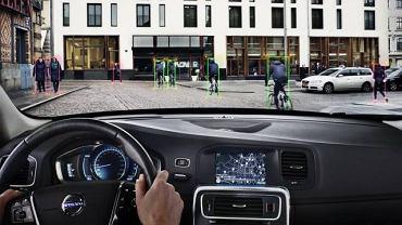 Volvo - system rozpoznawania rowerzystów