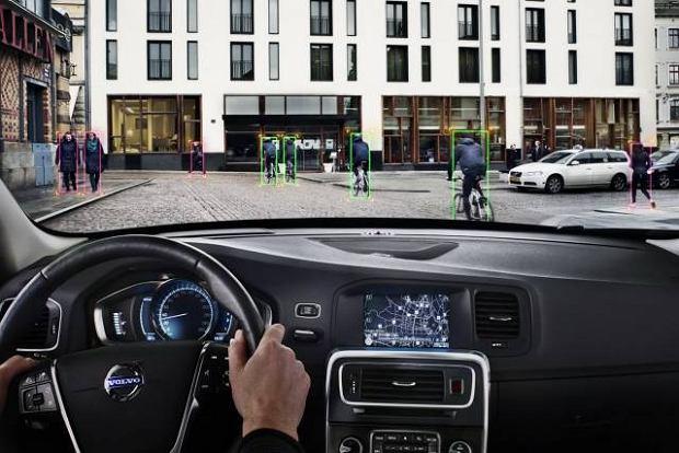 Volvo przyjazne rowerzystom