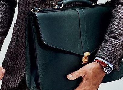 96b5da44190ad Ponadczasowe teczki - trwałe modele ze skóry idealne dla eleganckiego  mężczyzny