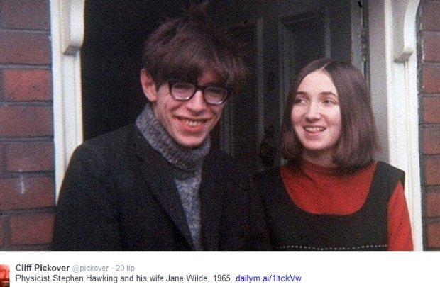 Stephen Hawking z Jane Wilde