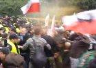 Narodowcy pr�bowali wej�� na teren Sejmu. Policja u�y�a gazu