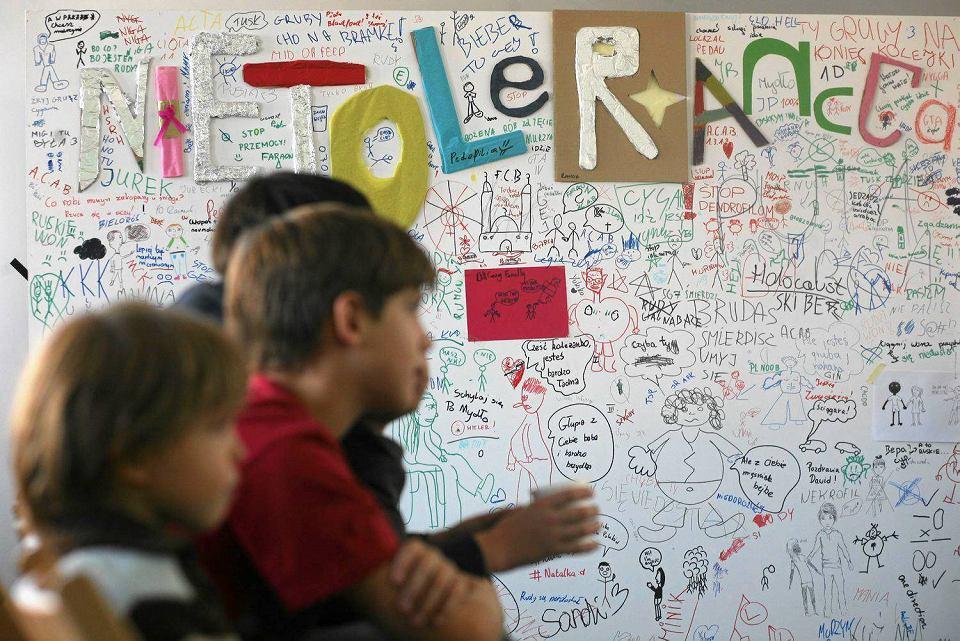 Podsumowanie projektu 'Tolerancja jest ok' w Centrum im. Zamenhofa