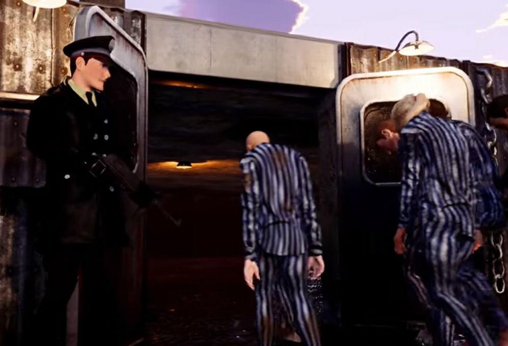 Kadr z trailera gry 'Cena wolności' ukraińskiego studia Aliens Games