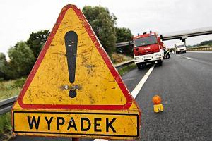 �miertelny wypadek na budowie obwodnicy Lublina. Ci�ar�wka przygniot�a rowerzyst�
