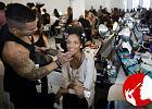 Ze szkicu na modelk� - zobaczcie w jaki spos�b pracuj� makija�y�ci podczas NY Fashion Week SS 2014