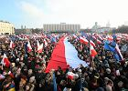 Demonstracja KOD w obronie Lecha Wałęsy