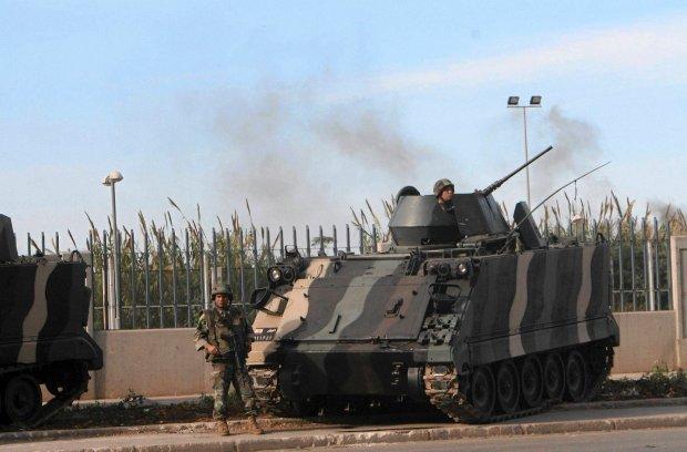 Liban. Po starciach armia przej�a kontrol� nad miastem Trypolis