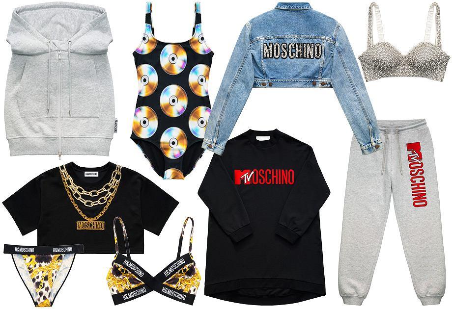 Moschino x H&M - kolekcja damska