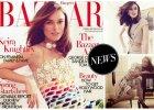 """Śliczna Keira Knightley na okładce brytyjskiego """"Harper's Bazaar"""" w sukni Chanel. Mówi o sławie, rodzinie i feminizmie [AKTUALIZACJA: nowe zdjęcia]"""