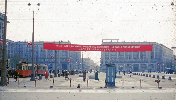 Warszawa w 1956 r.