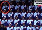 Tylko jedna cheerleaderka z Korei Płn. zaczyna klaskać. Szybka reakcja przerażonej koleżanki