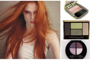 Kosmetyki do makijażu dla rudzielców. Przegląd cieni, róży, szminek