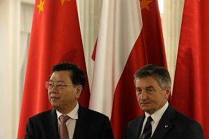 Wizyta Chinskich Wladz w Sejmie
