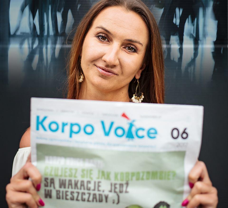Justyna Szawłowska, redaktor naczelna 'Korpo Voice'