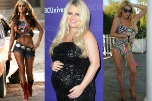 Jessica Simpson po drugiej ci��y schud�a ponad 30 kg [METAMORFOZA]