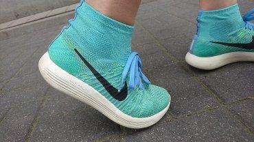 Buty treningowe Nike LunarEpic - kosmiczne skarpety