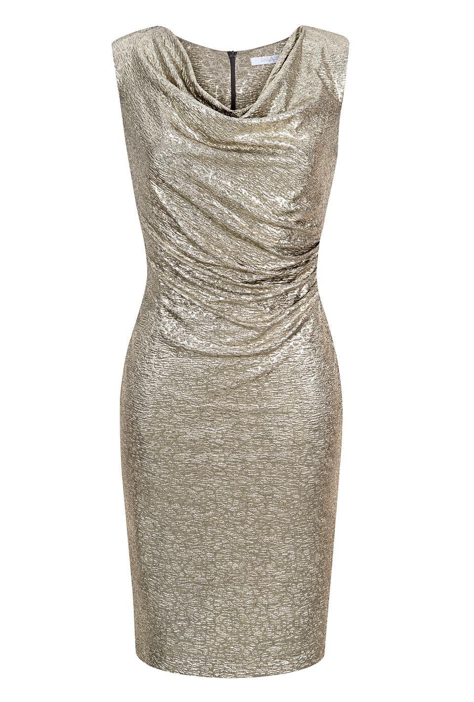 7ab45ac237 Błyszczące sukienki na Sylwestra