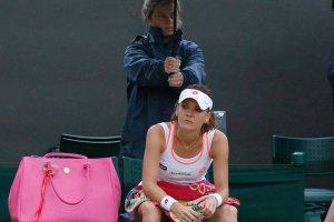 WTA w Auckland. Radwańska przegrała z deszczem