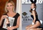 """Kate Moss pozowa�a dla """"Playboya"""" i znowu j� wyretuszowali. Nie wierzycie? Sp�jrzcie na jej nogi"""