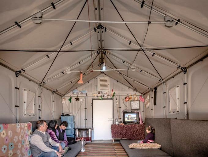 Dom dla uchodźców Ikea Better Shelter