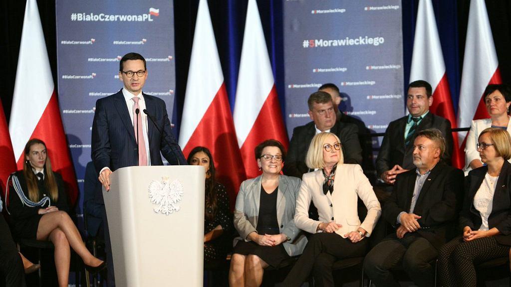 Wizyta premiera Mateusza Morawieckiego w Bystrzycy Kłodzkiej