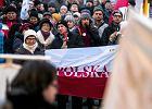 Protest w Lublinie obronie wolnej Polski i wolnych mediów