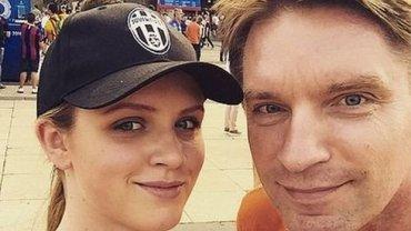 Tomasz Lis z córką Polą