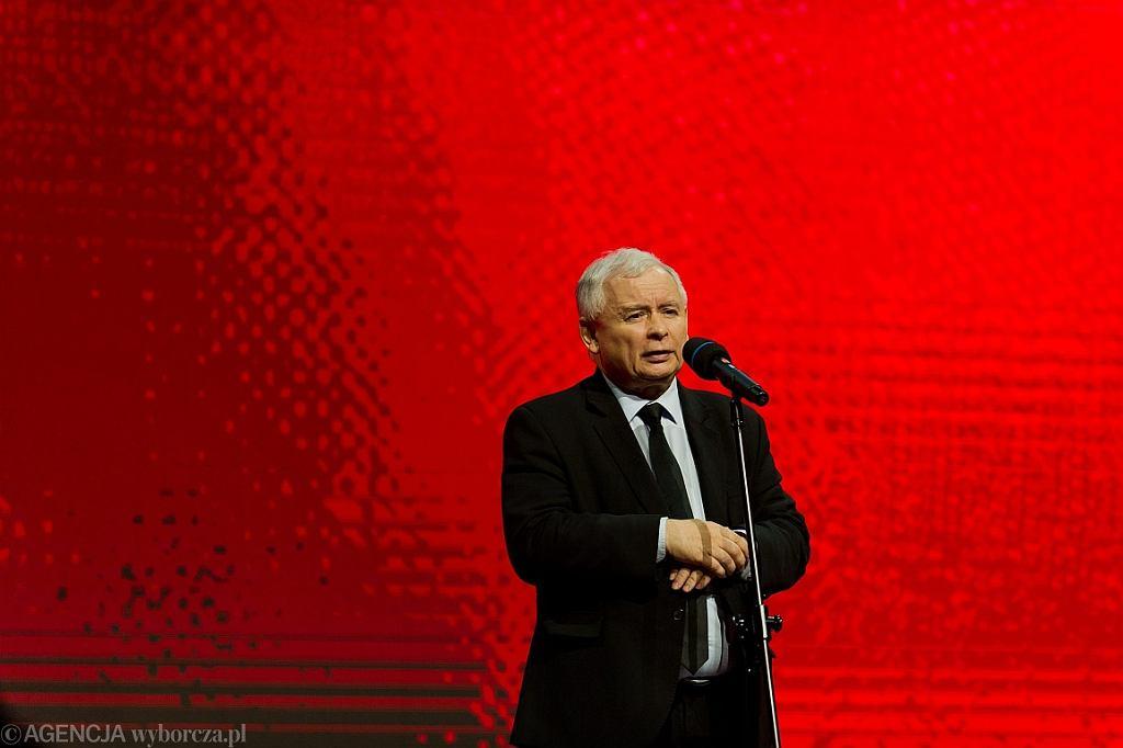 Jarosław Kaczyński (fot. Łukasz Krajewski/AG)