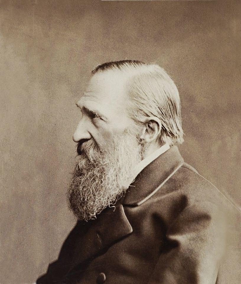 Józef Ignacy Kraszewski (1812-87) na fotografii zrobionej ok. 1882 r.