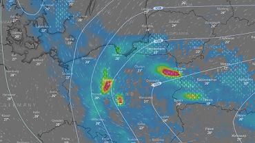 Prognoza pogody na wtorek - burze i ulewy