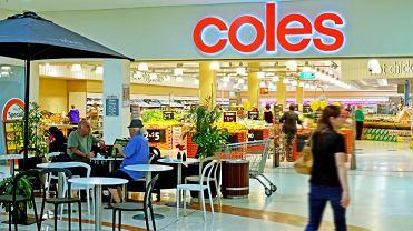 Supermarket Coles jeden z 741 w Australii
