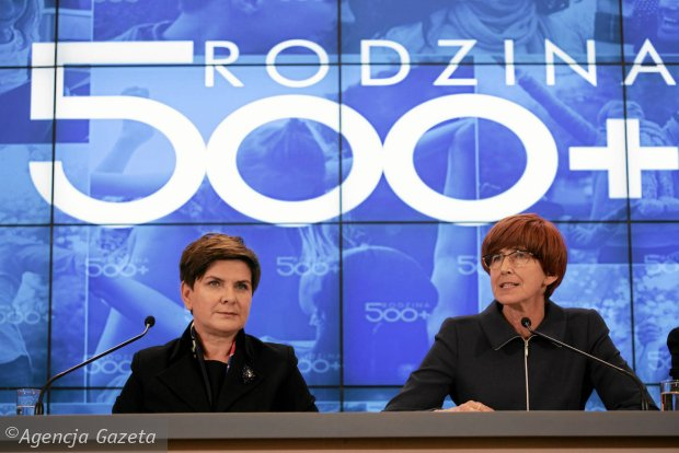 Beata Szyd�o i El�bieta Rafalska