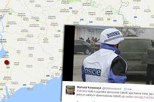 Wybuch samochodu OBWE na Ukrainie. Jeden obserwator nie żyje