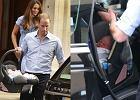 Ksi��� William  i ksi�na Kate narazili swojego synka na niebezpiecze�stwo!