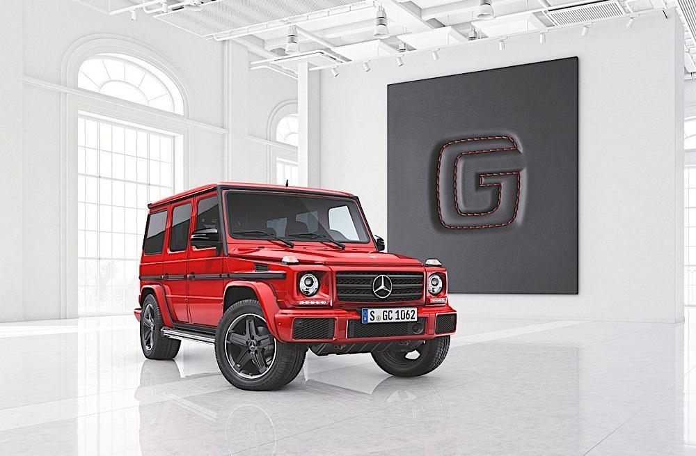 Mercedes klasy G designo manufaktur i Exclusive Edition
