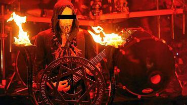 Koncert Behemotha, którego liderem jest Adam D.