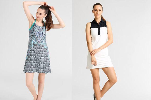 Sportowe sukienki w stylizacjach na wieczór