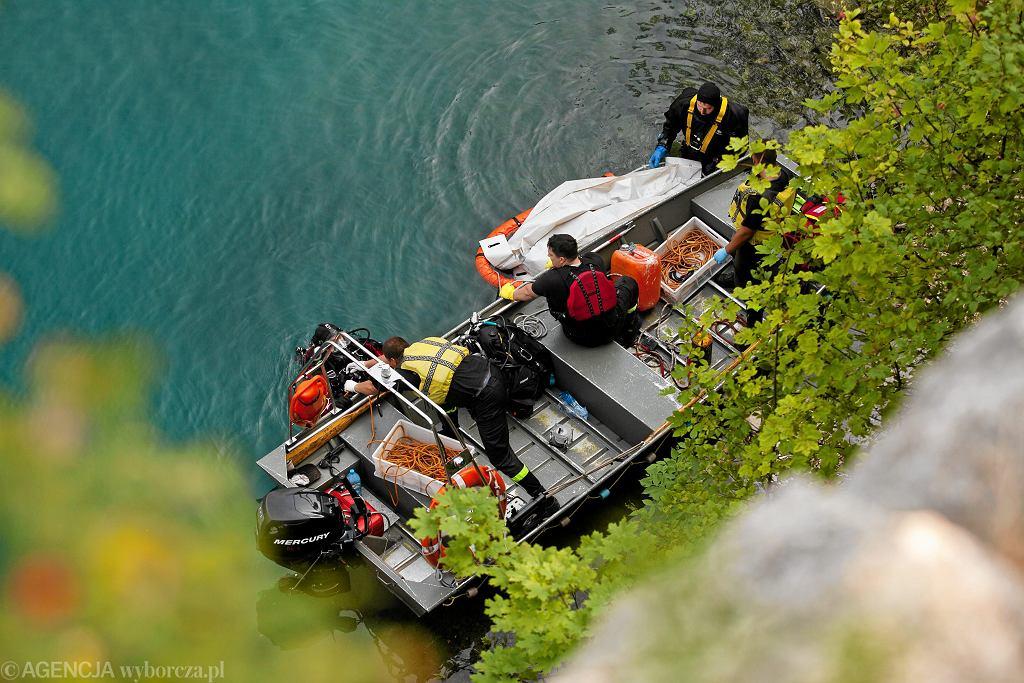 Akcja ratownicza. Zdjęcie ilustracyjne